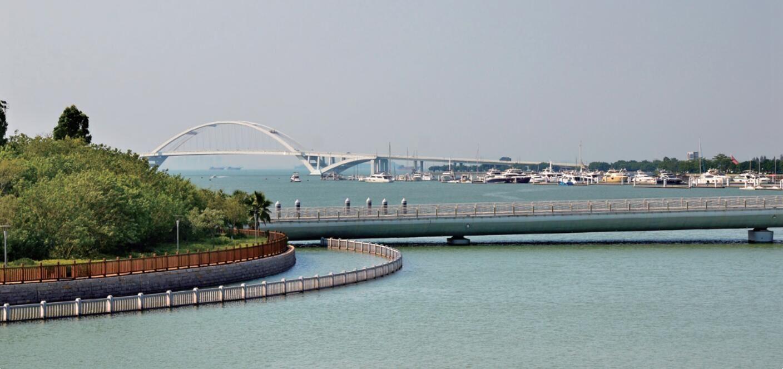 无缘湾片区音乐岛桥及2#人行桥接线工程