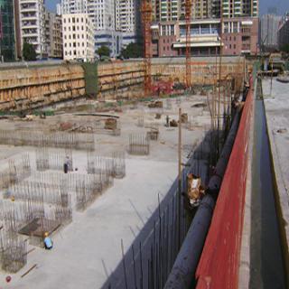 新天湾畔基础工程