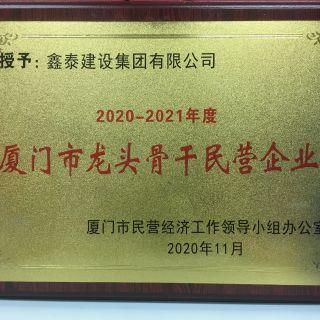2020-2021年度厦门市龙头骨干民营企业